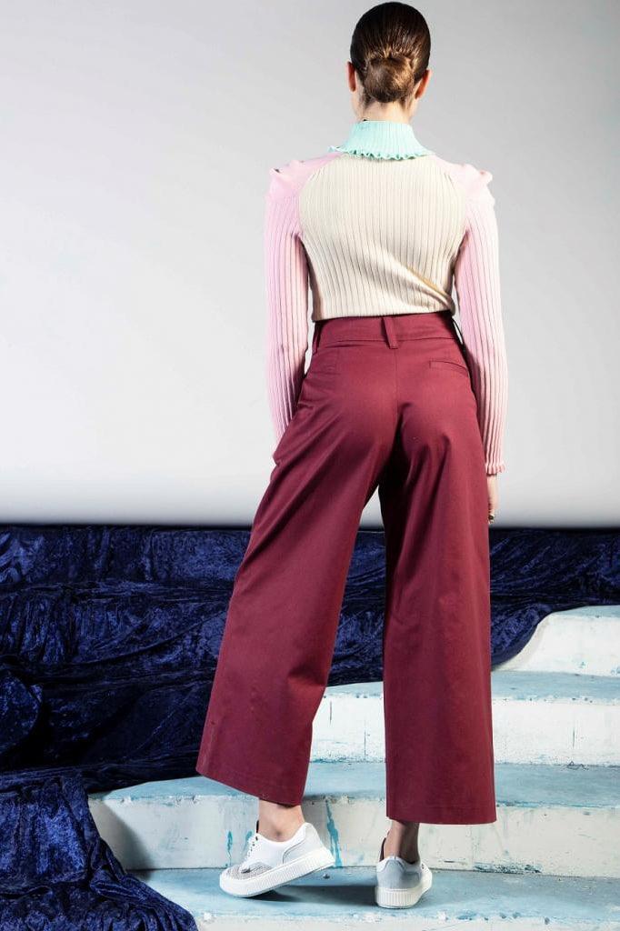 pantalon Georges Bordeaux