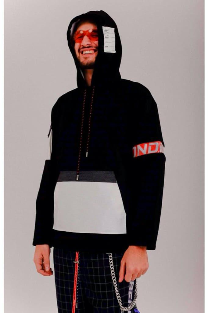 tactical Oxford hoody black